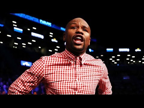Watch Floyd Mayweather Get Hit in the Face with a Drink!