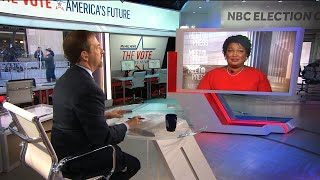 Full Stacey Abrams: 'We Have Seen Unprecedented Turnout In This Race' | Meet The Press | NBC News