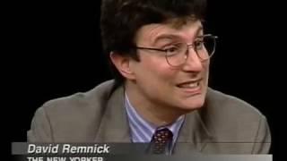 David Remnick interview on Charlie Rose 1997