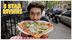 Eating At The BEST Rated Pizza Restaurant In New York City (5 STAR)