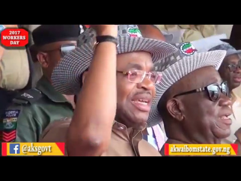 Video News: Akwa Ibom Governor Announces Workers Affordable Mass Housing.