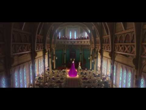 FROZEN - Old Norse Language (subtitled) in Elsa Coronation Scene