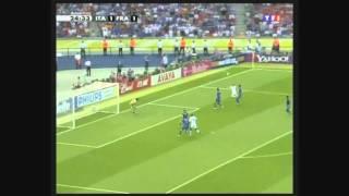 Italie - France, finale coupe du monde 2006 (point de vue français)