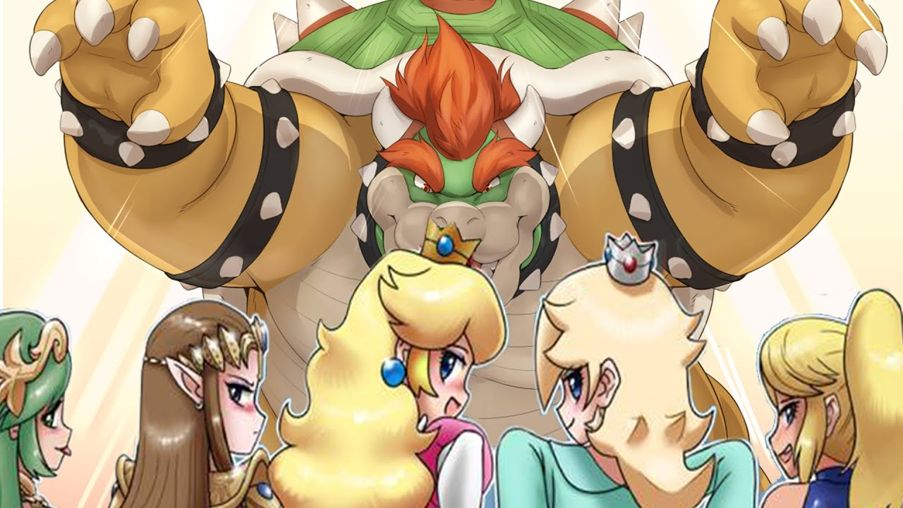 peach and bowser having sex naked