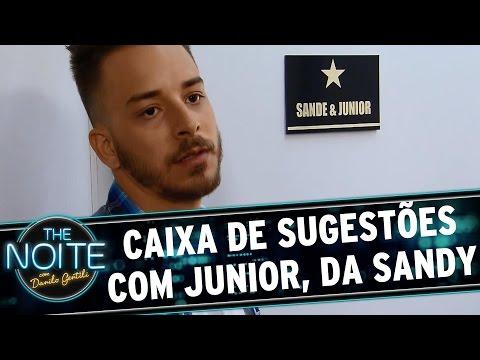 The Noite (07/09/15) - Caixa De Sugestões Com O Junior, Da Sandy
