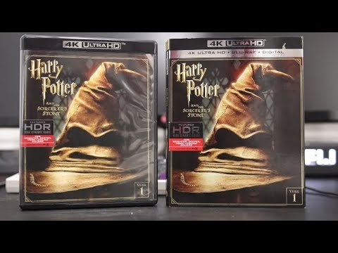 Harry Potter and the Sorcerers Stone 4K Blu-Ray Review