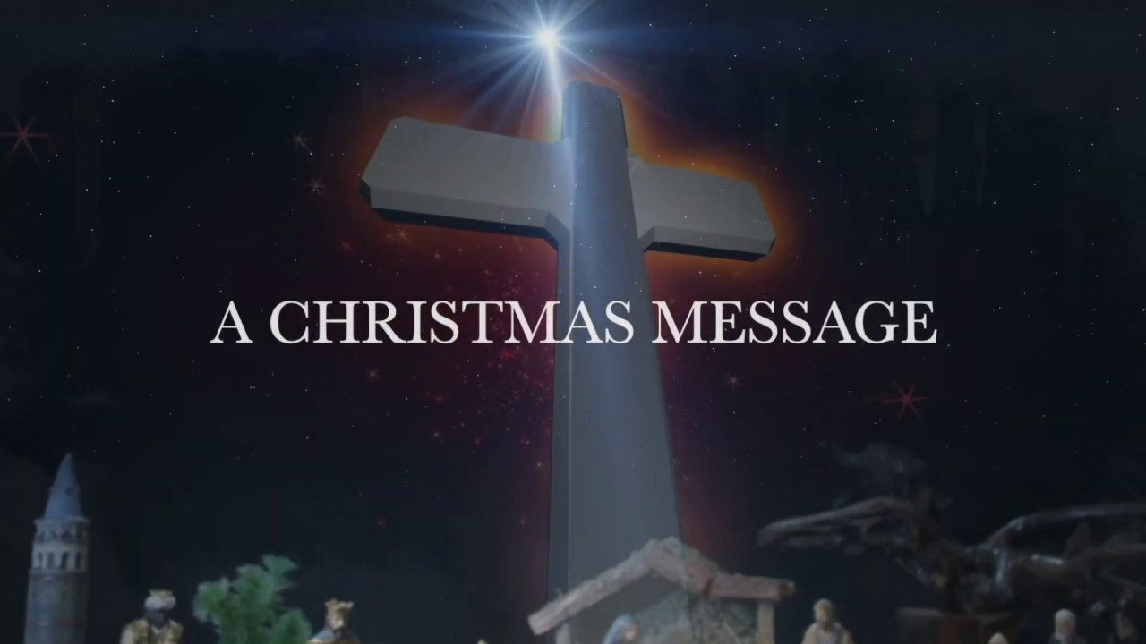 Christmas Message Video done by my husband Julian for our churches.