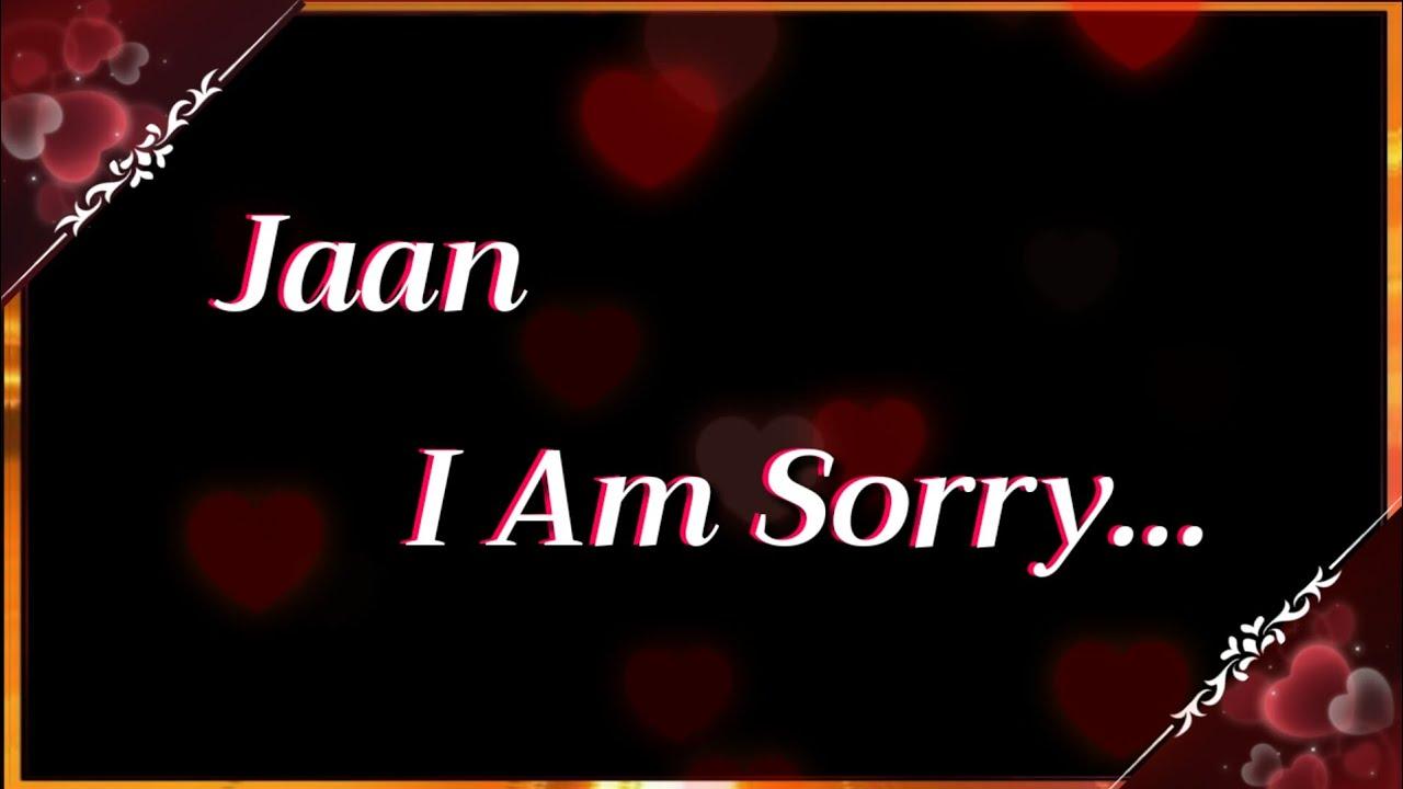 Apki Ruthi Hui Partner Emotional Hoke Roo Degi Ye Sorry Status Dekh Ke 💓| Sorry Status for Gf / Bf 💓