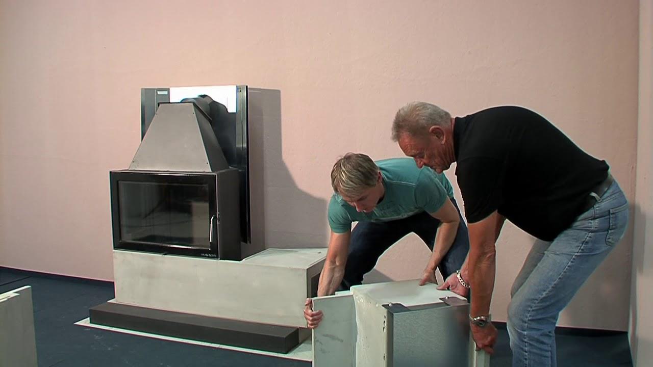 haas sohn aufbauanleitung kaminbausatz adonis youtube. Black Bedroom Furniture Sets. Home Design Ideas