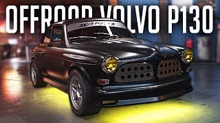 Need for Speed PAYBACK | Volvo Amazon P130 Police Chase & LV399 Offroad Build