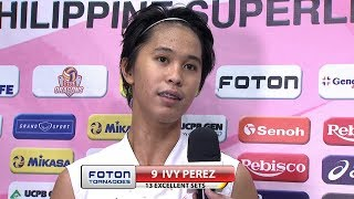 Match MVP: Ivy Perez  | Chooks-to-Go PSL Grand Prix 2017