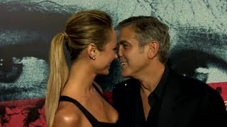 George Clooney and Stacy Keibler Spend Independence Day Apart Sparking Split Rumors - Splash News