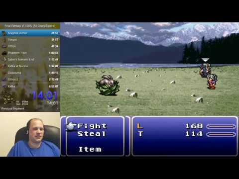 Final Fantasy VI Speedrun (Glitchless Any%) - 5:13:24