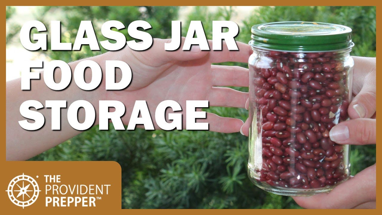 How to Package Dry Goods in Glass Jars for Long Term Storage