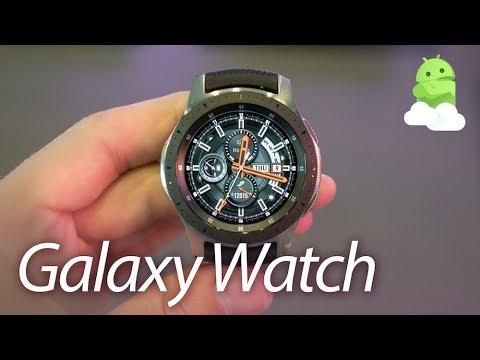 Samsung Galaxy Watch Hands-on: Grinding Gears