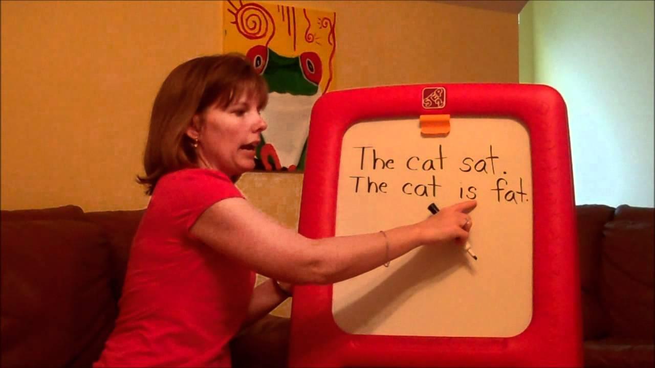 short sentences for preschoolers