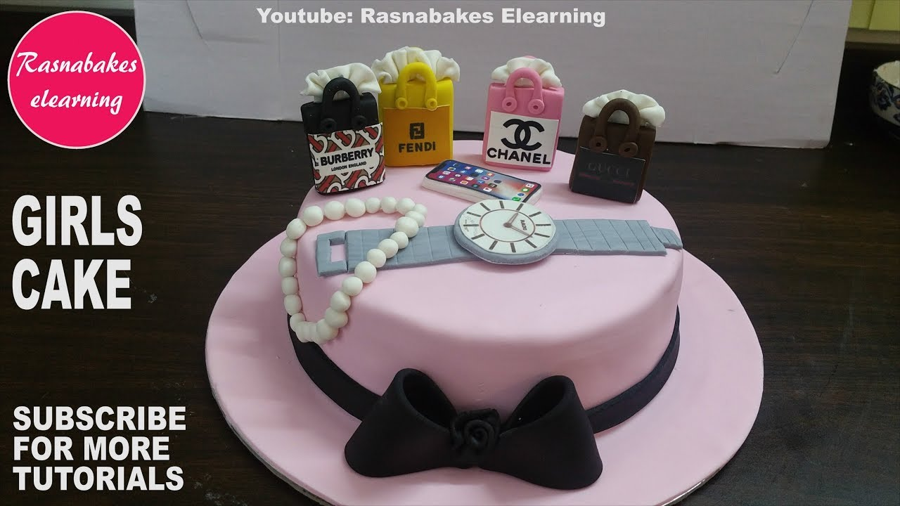 How To Make 3d Fondant Teenage Girls Or Women Cake Designhappy Birthday Ideas Design Pics