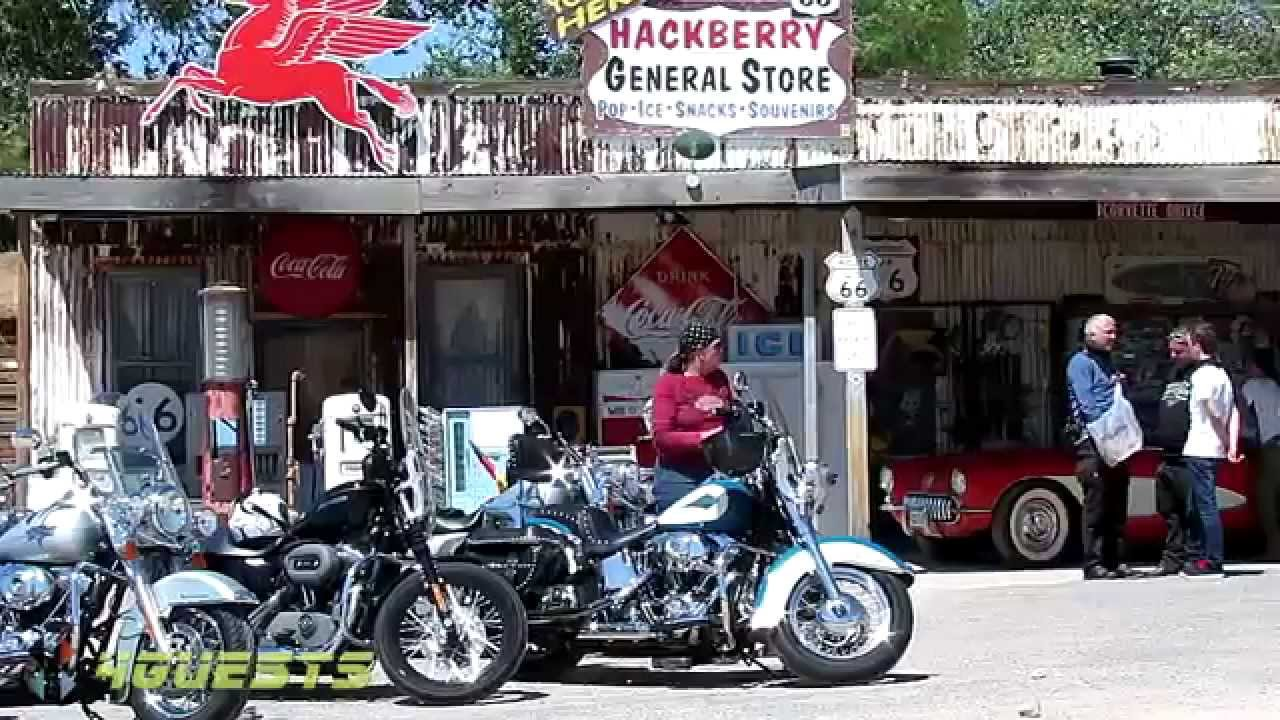 route 66 usa harley davidson arizona youtube. Black Bedroom Furniture Sets. Home Design Ideas