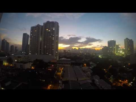 sunrise in manila viewing makati skyline