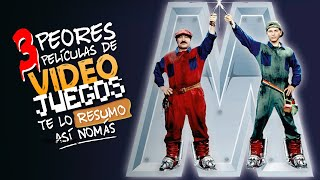 Te Lo Resumo | 3 Películas Basadas en Videojuegos Así Nomás