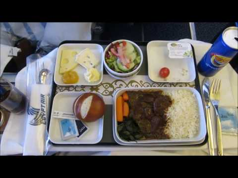 Flight Report | Munich – Cairo | EgyptAir Business Class | Lufthansa Business Class Lounge
