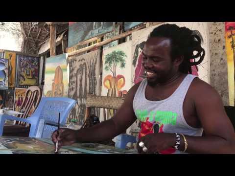 Art flourishes in Bagamoyo, Tanzania