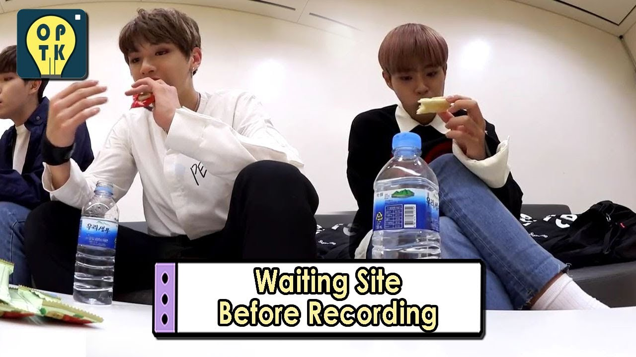 Oppa Thinking - Wanna One] Waiting Site Before Recording, 오빠생각 ...
