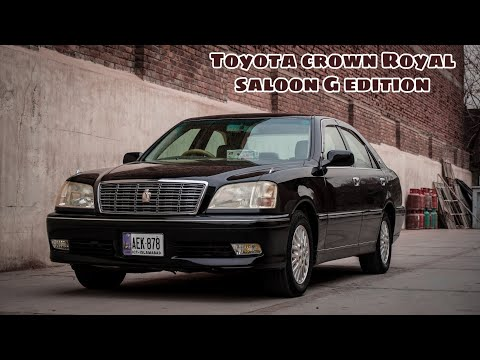 Toyota Crown Royal Saloon G Edition 2000 Model With Luxurious Features