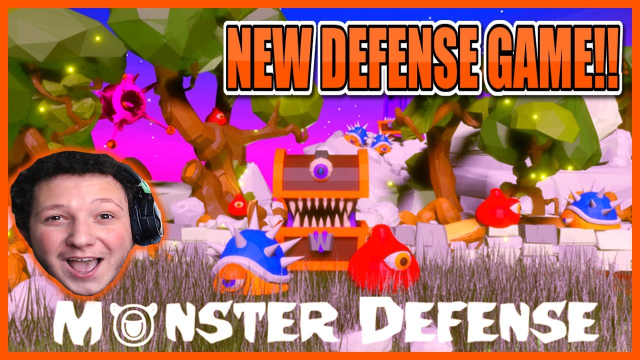 MONSTERS DEFENSE!!😱NEW ROBLOX DEFENSE GAME!!🛡️