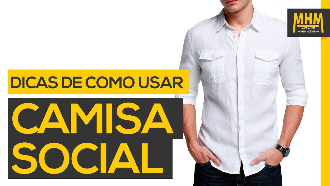 50f65c3402 Como escolher uma Camisa Social Masculina