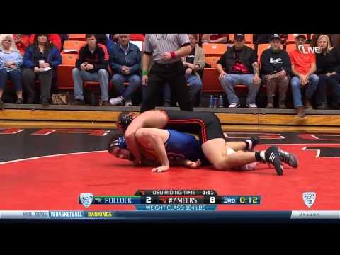 Oregon State Wrestling Vs CSU Highlights - 1/17/15