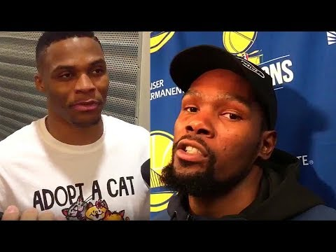 Kevin Durant WANNA FIGHT Russell Westbrook (Parody)