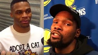 Kevin Durant WANNA FIGHT Russell Westbrook Parody