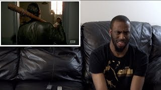 """REACTION to The Walking Dead SEASON 7 Episode 11 """"HOSTILES AND CALAMITIES"""" (PART 1)"""