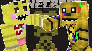 Minecraft SUPER FIVE NIGHTS AT FREDDY S BROS BRAWL FIGHT AS ANIMATRONICS Mini Game