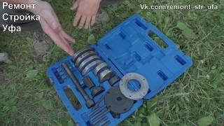 Нестроительное видео Замена ступичного подшипника на ФВ Т5