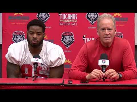 Lobo Football Press Conference