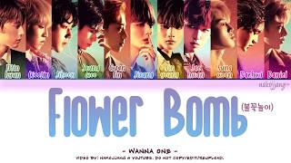 [3.34 MB] WANNA ONE (워너원) – FLOWERBOMB (불꽃놀이) (Color Coded Lyrics Eng/Rom/Han/가사)