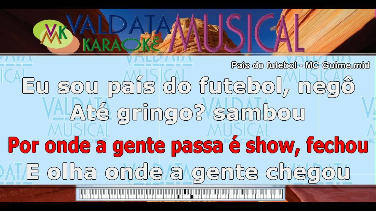 MC GUIME NO MP3 MUSICA PALCO PAIS DO BAIXAR FUTEBOL