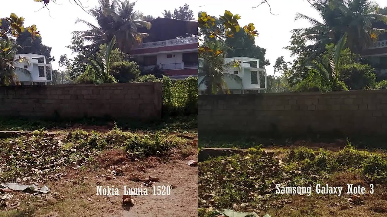 Nokia Lumia 1520 vs Samsung Galaxy Note 3 Camera Sample ...