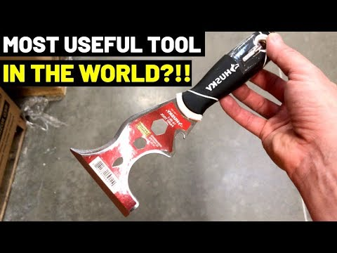 IS THIS THE MOST USEFUL TOOL IN THE WORLD? Watch And Decide!! (5-In-1, 6-In-1,Painter's Tool)