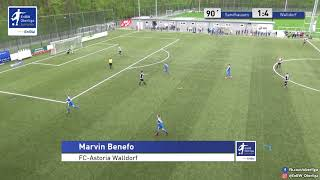A-Junioren - 1:4 - Marvin Benefo  - FC Astoria Walldorf