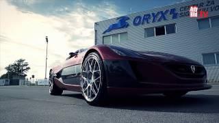 Rimac Concept One 2012 Videos