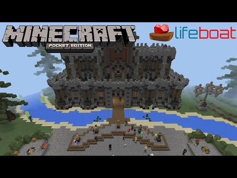 Minecraft Pocket Edition: Hunger Games Lifeboat 9: SG/CTF Youtube Rank
