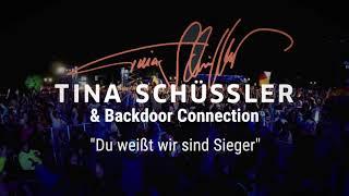 """TINA SCHÜSSLER Siegersong Fußball WM """"DU WEISST WIR SIND SIEGER"""" mit Backdoor Connection"""
