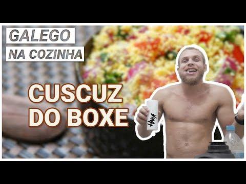 COMO FAZER CUSCUZ (cuscuz do boxe) - galego na cozinha #4