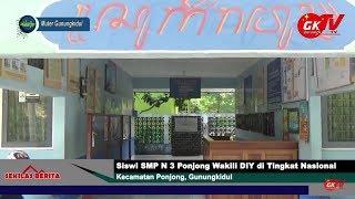 Siswi SMP N 3 Ponjong Wakili DIY di Tingkat Nasional - TV Gunungkidul