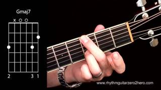 Acoustic Guitar Chords - Learn To Play G Major 7