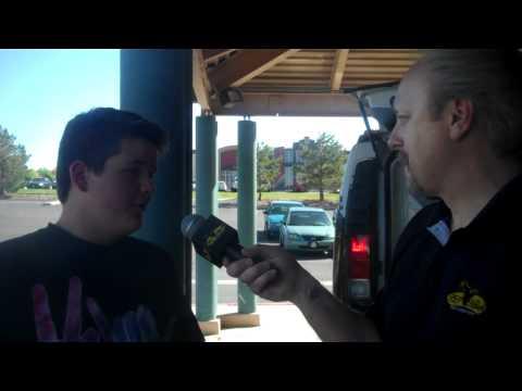 Hawk interviews local star