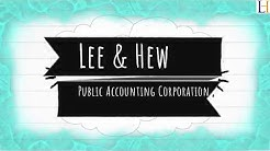 Accounting and bookkeeping Services Singapore | Lee & Hew Public accounting corporation